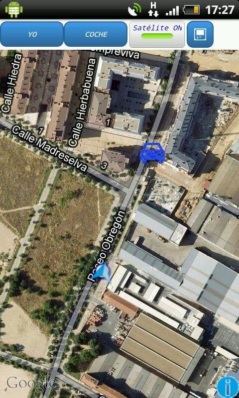 Donde está mi coche