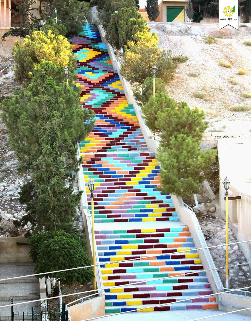 Stairs of Peace in Syria2