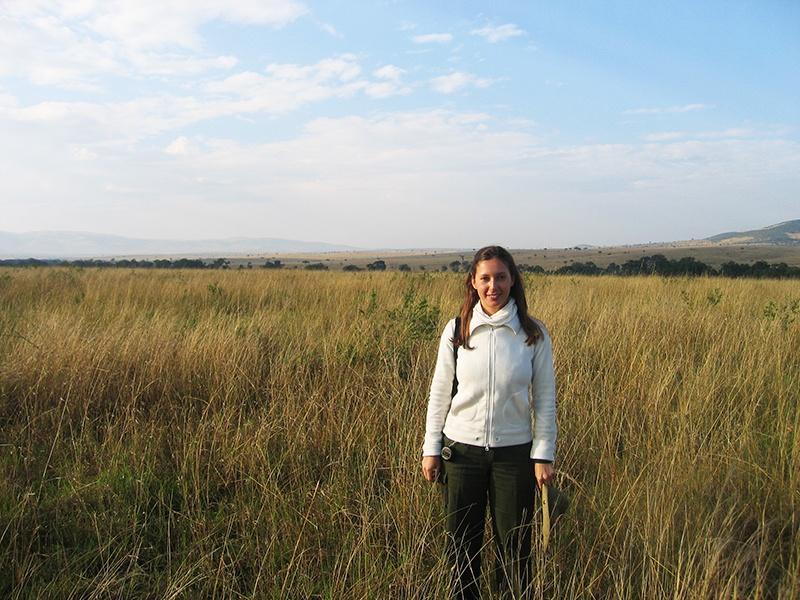 Sara, blogger de viaje en Masai Mara, Kenia