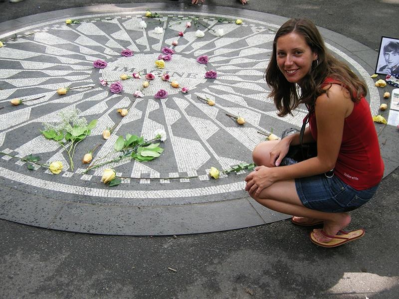 Sara  en Nueva York