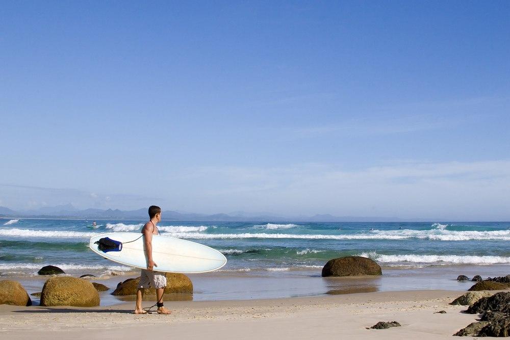 Practicar surf es uno de los planes para el puente de mayo