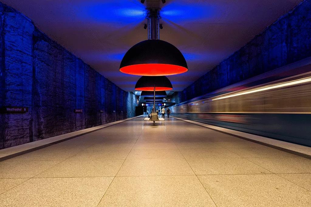 Estación de metro de Munich