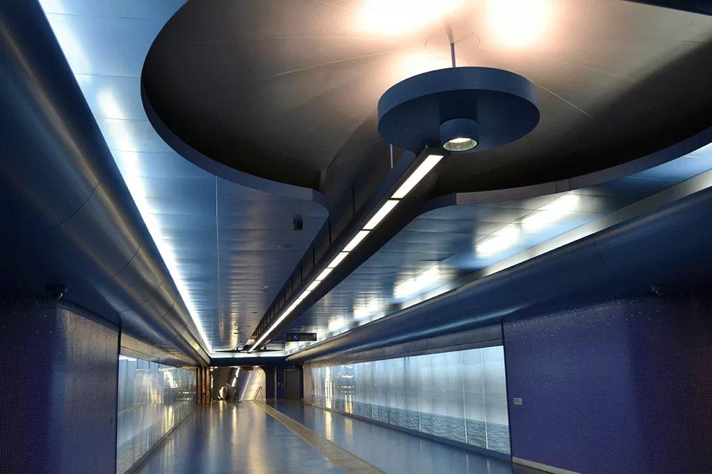 Estación del metro de Nápoles