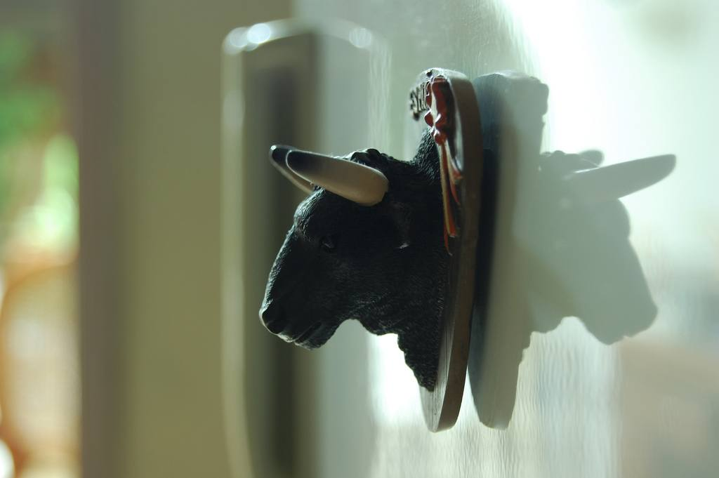 Souvenir del toro de España