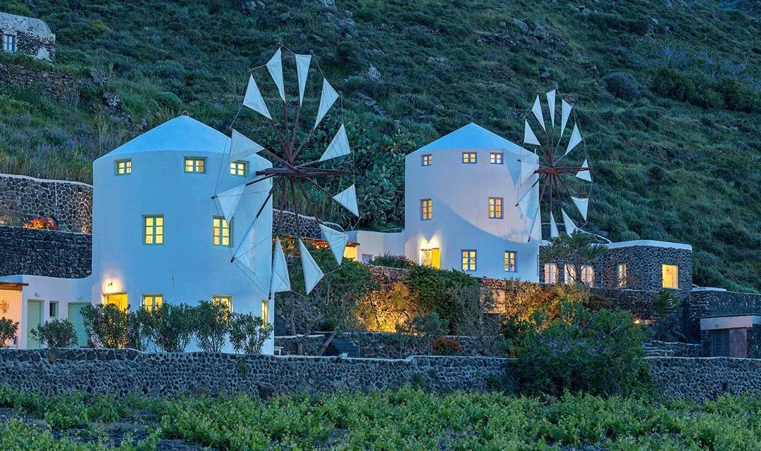 Glamping en Santorini, Grecia