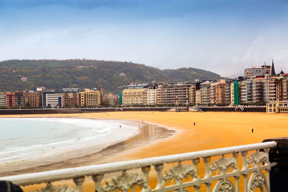 Playa de la Concha, San Sebastián