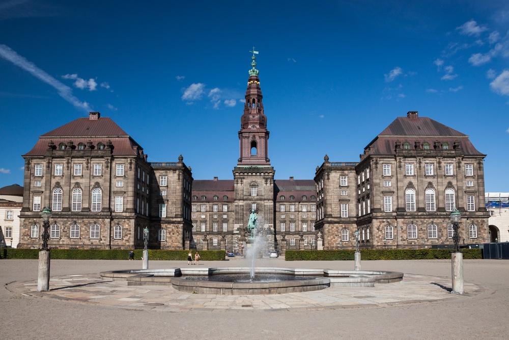 Palacio de Christianborg en Dinamarca