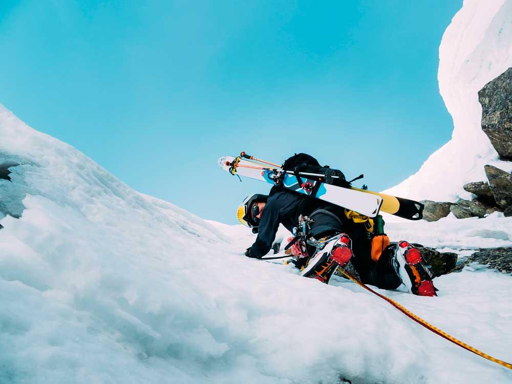 seguro de deportes de invierno