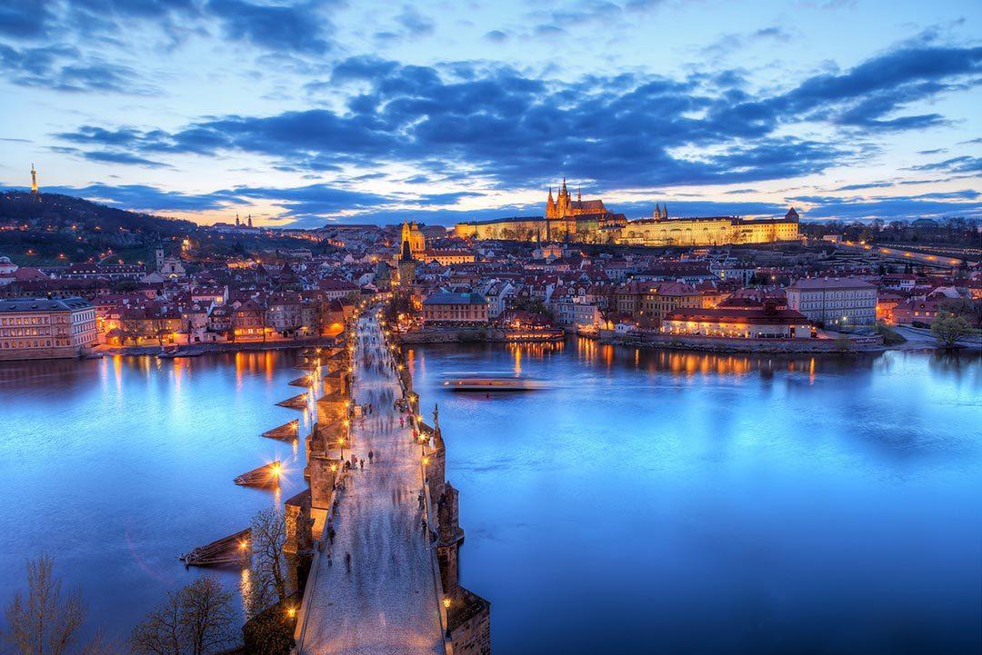 Praga, una ciudad de cuento donde viajar en San Valentin