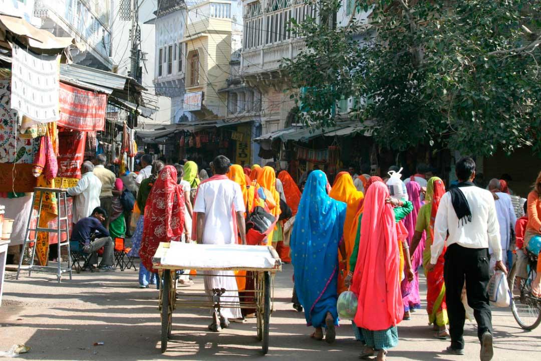 mercados de la india