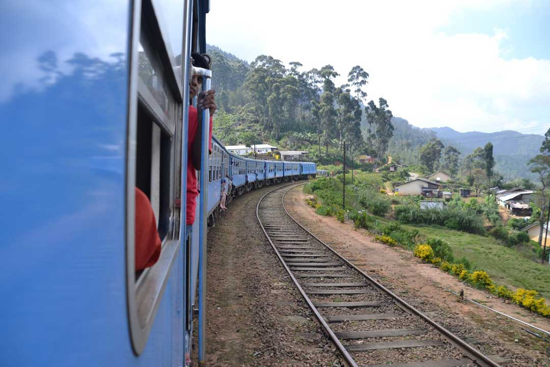 Tren hacia tierras altas