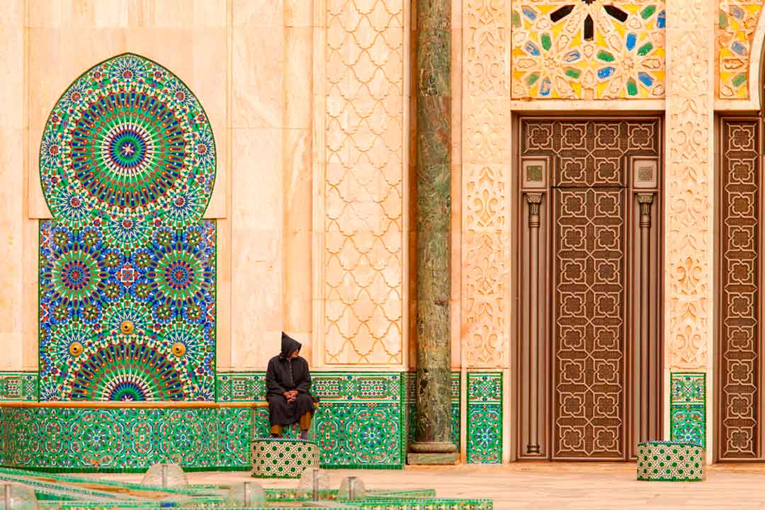 Que ver en Marruecos: Mezquita de Hassan II en Casablanca