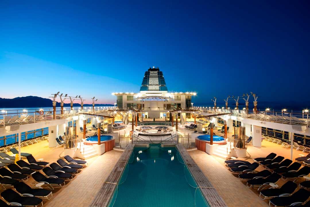 El seguro para cruceros no solo cubre a bordo, tambien en tierra y durante todo el viaje