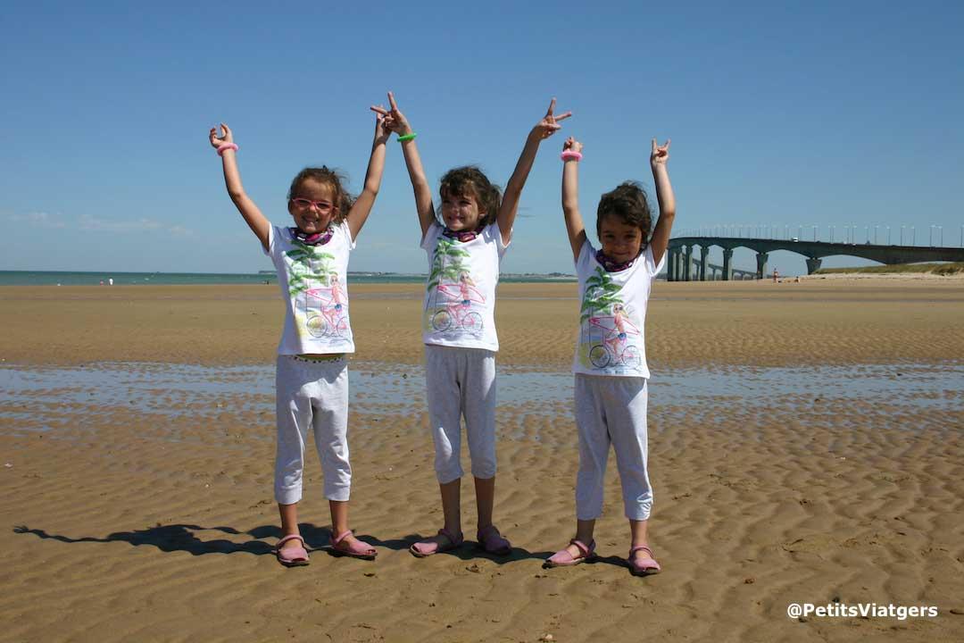 vacaciones con niños playa