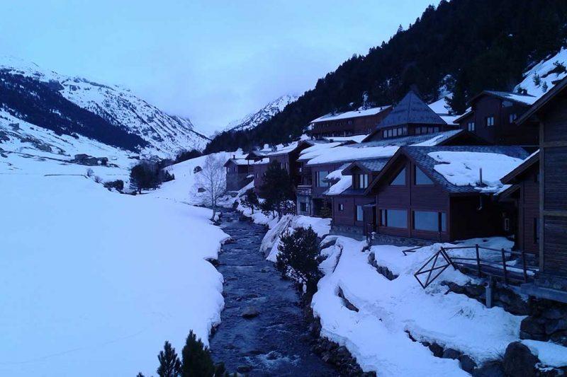 Fin de semana en la nieve en Andorra