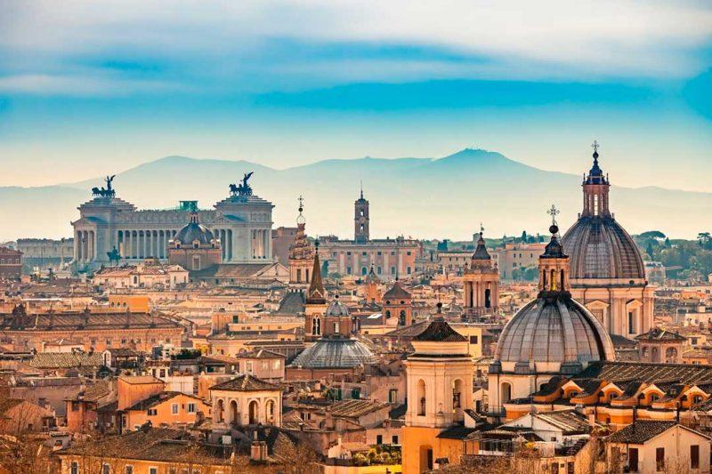El skyline del centro histórico de Roma, entre las mejores fotos de Instagram de InterMundial en 2017