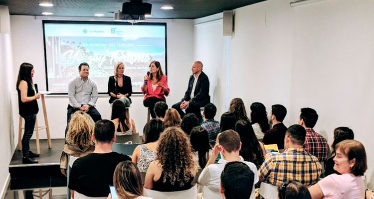 Ponentes de Yo soy turismo en B the travel brand, debate sobre el turismo del futuro.