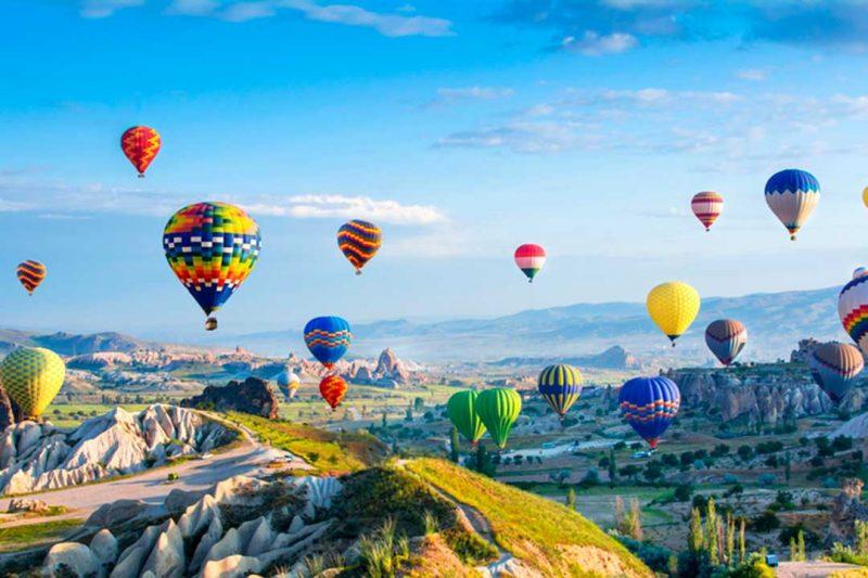 La Capadocia es uno de los mejores lugares que ver en Turquia