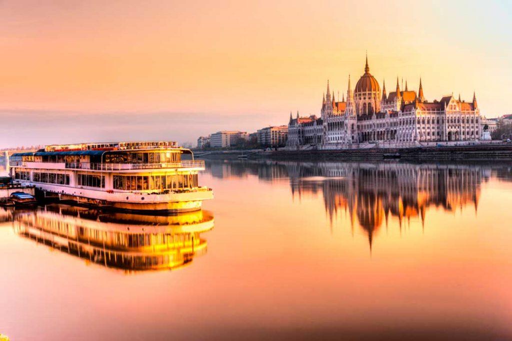 El Danubio es un destino ideal para hacer un crucero de verano sin salir de Europa